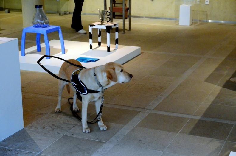 Hond en Kunst - Gubbink - Beelden aan zee