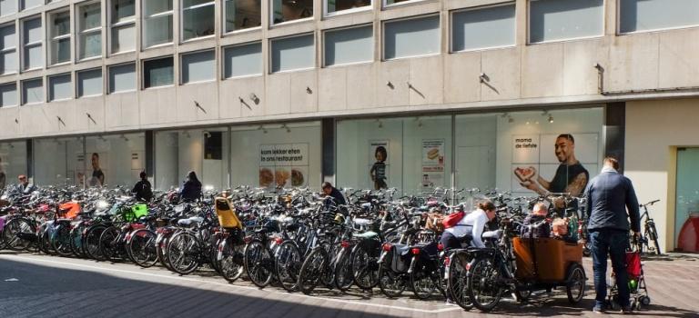 Fotocyclus De-Fiets-In-De-Stad