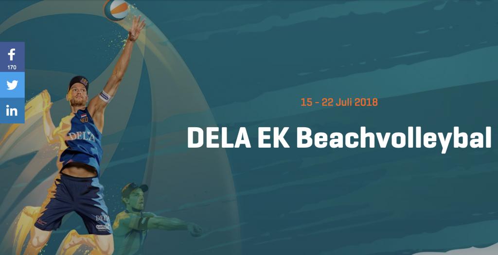 DELA EK Beachtoernooi (volleybal) @ Sportcampus Zuiderpark | Den Haag | Zuid-Holland | Nederland