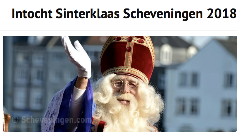 Intocht Sinterklaas in Scheveningen @ Haven Scheveningen | Den Haag | Zuid-Holland | Nederland